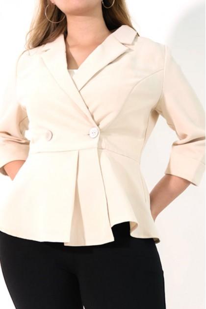 ReClassic Peplum Coat